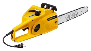 Buy electric chain saw ALPINA Synergy 35 online :: Characteristics and Photo