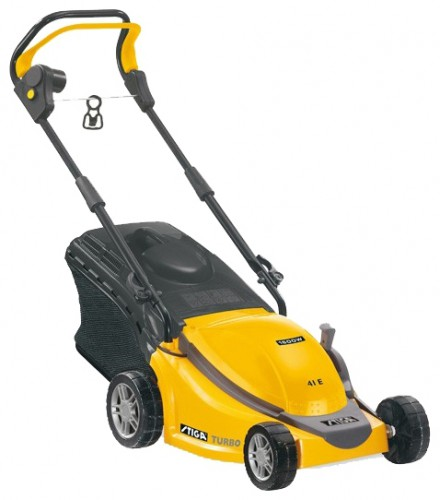Buy lawn mower STIGA Turbo 41 E online :: Characteristics and Photo